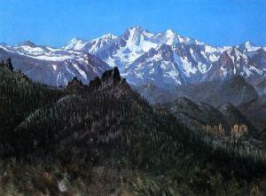 Las montañas de Sierra Nevada
