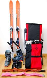 Equipamiento basico para esquiar