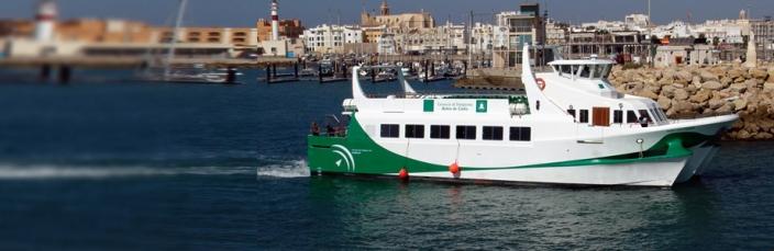 Excursión barco Cádiz
