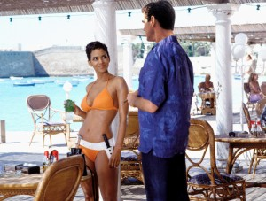Halle Berry and Pierce Brosnan in