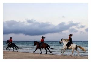 Montar a caballo en Tarifa